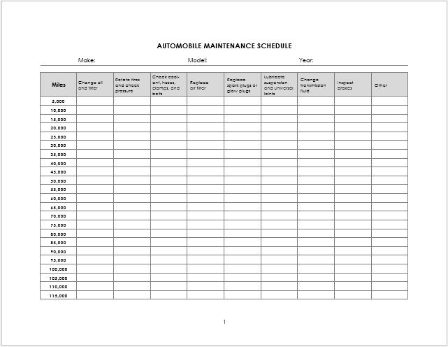Boiler log sheets for Equipment log book template