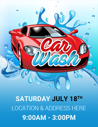 Car Wash Flyer Template | Ms Word Car Show Flyer Template Word Excel Templates