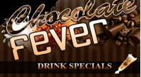 Chocolate Fever Night Club Flyer