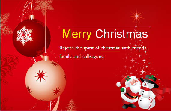 word christmas card templates