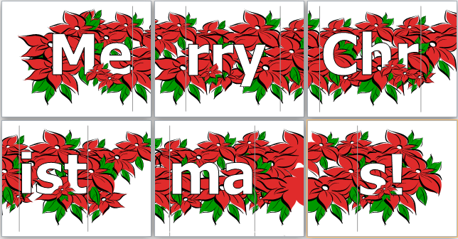 ms word merry christmas banner template