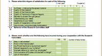 Customer satisfaction survey form template