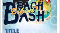 Beach Bikini Party Flyer