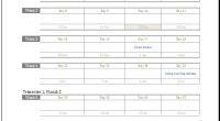 pregnancy calendar template
