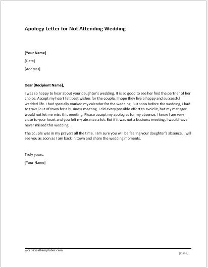 poor services apology letter ms word document template