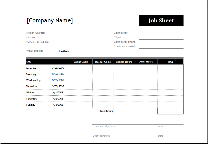 4 excel sheet templates for everyone word excel templates for Instruction sheet template word