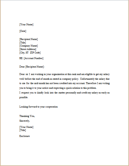 Cover letter for any job position example picture 3