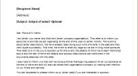 Sponsorship Letter