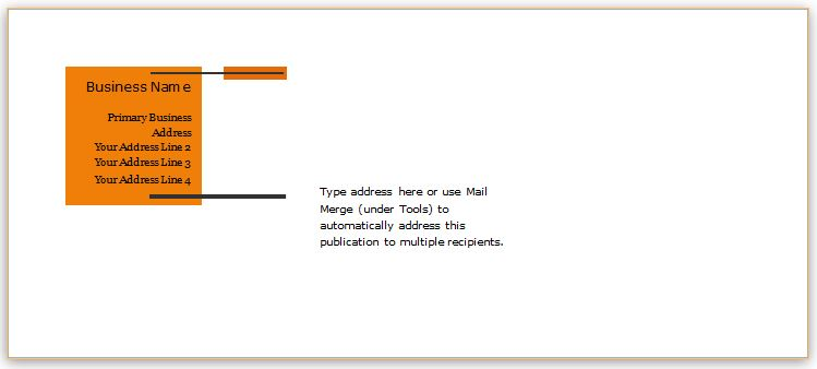 40 editable envelope templates for ms word
