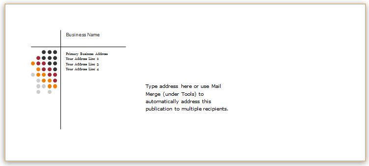 Envelope Template for WORD