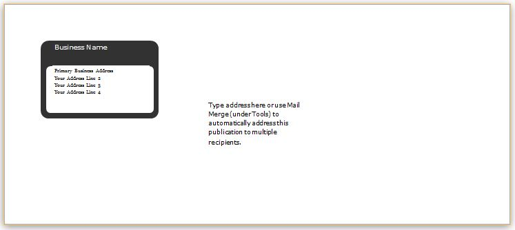 5 free envelope templates for microsoft word.