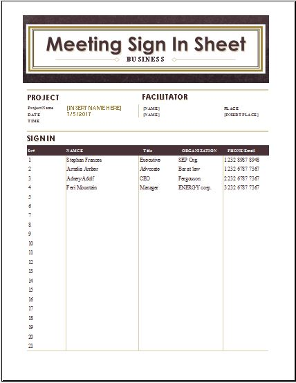 Meeting Sign In  PetitComingoutpolyCo