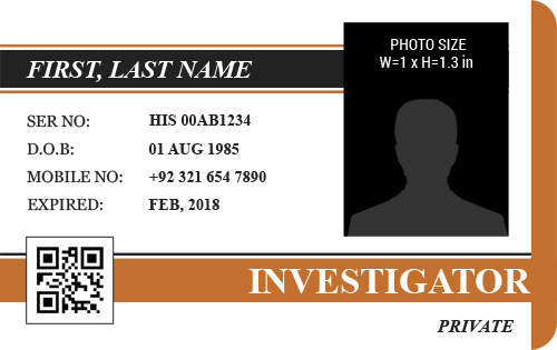 security badge template free