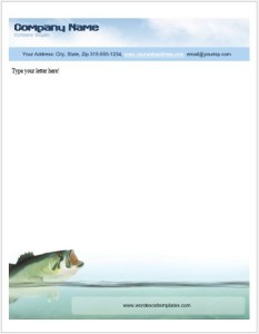 Animal Letterhead Templates for MS Word