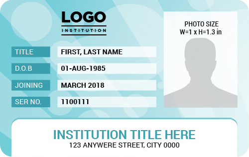 Ms Word Photo Id Badge Templates For All Professionals Word Excel Templates