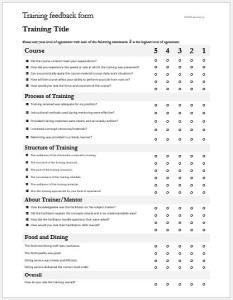 restaurant customer feedback forms ms word word excel templates