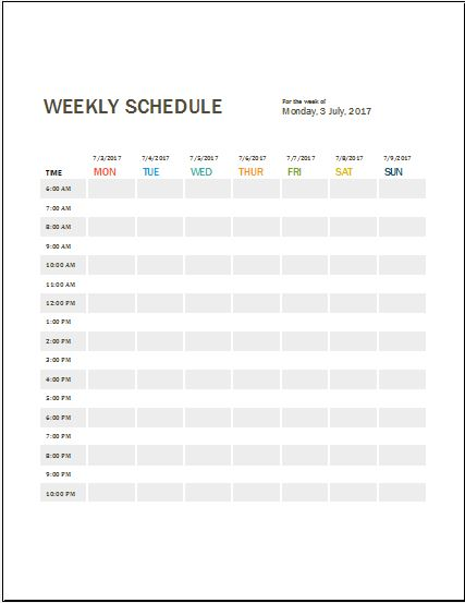 Daily Work Log Templates For Ms Word & Excel | Word & Excel Templates
