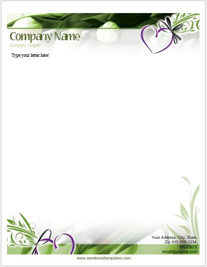 floral_letterhead_10-1 Business Christmas Letter Templates on santa claus, family holiday newsletter, truck trailer, better homes gardens free, google docs,
