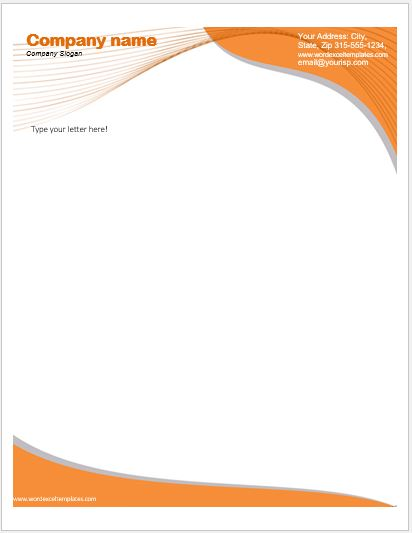 Business letterhead templates for ms word word excel templates business letterhead template wajeb