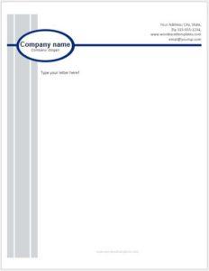 Business Letterhead Template