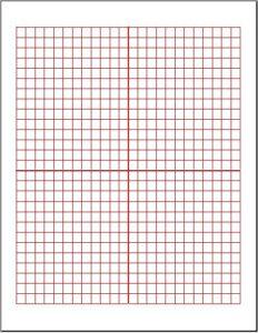Cartesian Graph Paper Large Box