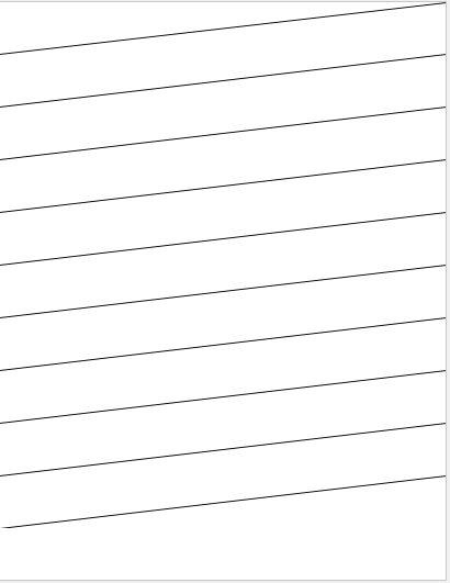 Slant Lines Writing Paper
