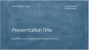 Academic Presentation Template