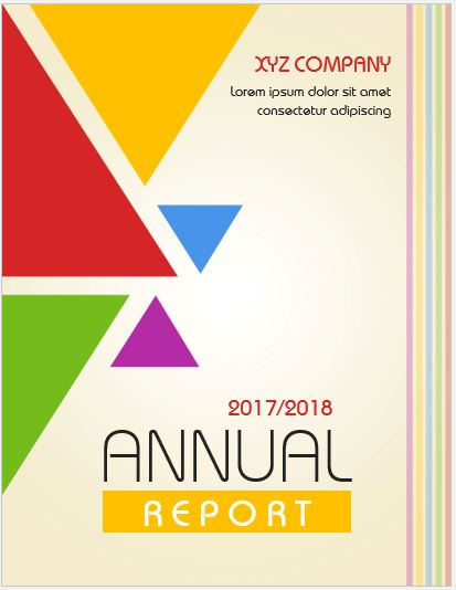 20 Report Cover Page Templates For Ms Word | Word & Excel Templates