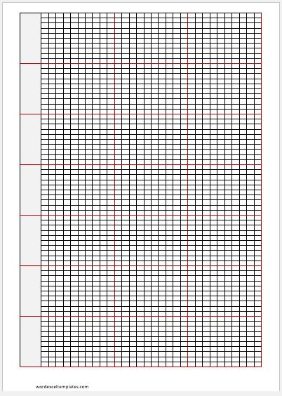 photo regarding Printable Knitting Graph Paper called Knitting Graph Papers for MS Phrase Phrase Excel Templates