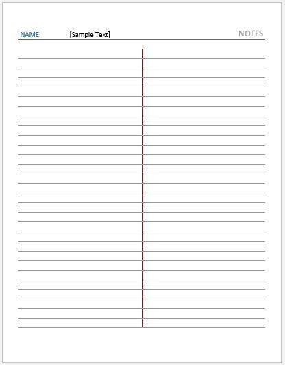 Gregg Ruled Note Paper