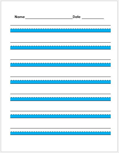penmanship paper Designed to accommodate a wide range of grade levels and great for honing the practice, shop for handwriting paper tablets from office depot officemax.