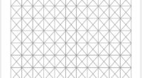 Isometric Graph Paper 0.75 inch