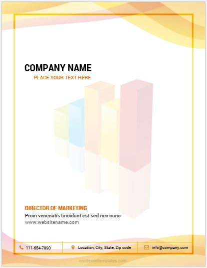 MS Word Company Letterhead Template
