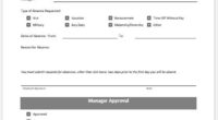 ... Template MS Word Leave Applications Forms  Event Registration Form Template Word