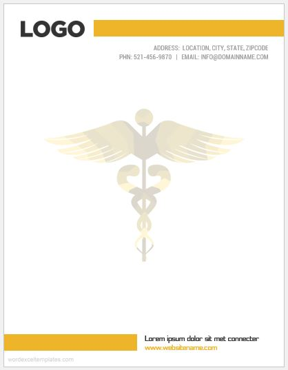 Pharmacy Letterhead Sample