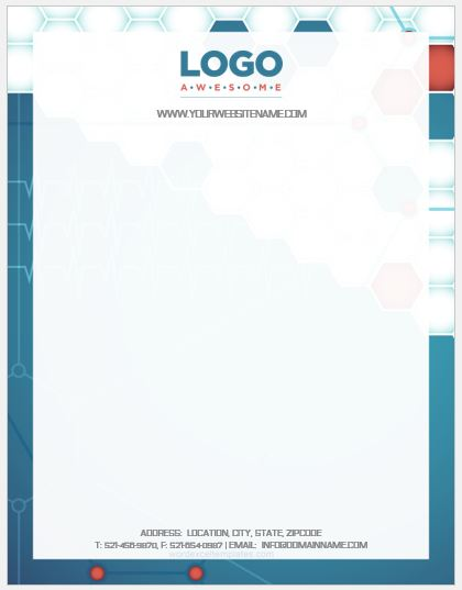 Pharmacy Letterhead Template