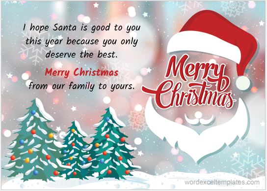 Christmas wish card 2017