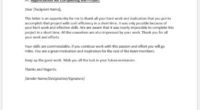 Employee Recognition Letter Formal