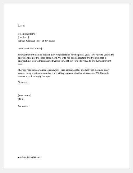 Sample Letter To Tenant For Late Rent from www.wordexceltemplates.com