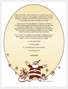 Secret Santa email sample