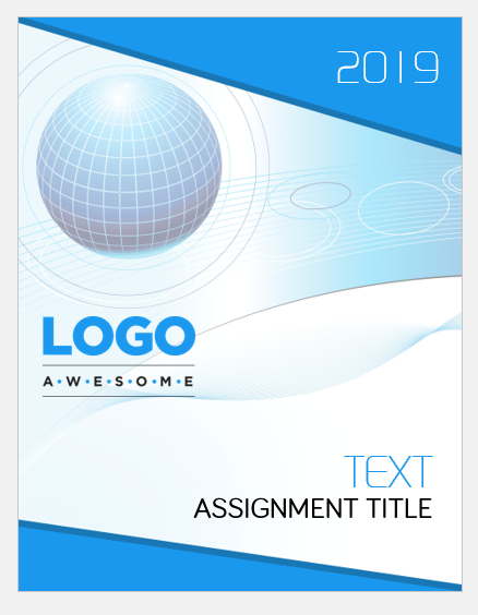 assignment cover page templates for ms word
