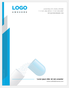 Pharmacy letterhead template