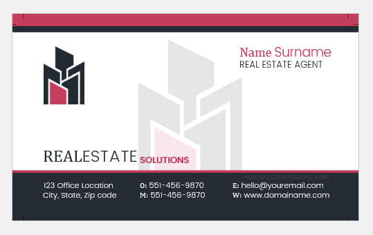 Real Estate Professional Business Card