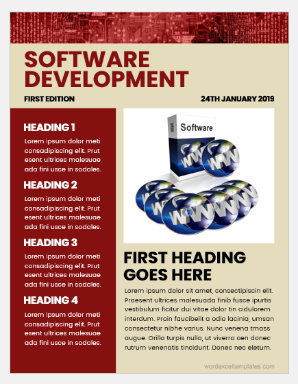 Software Company Newsletter