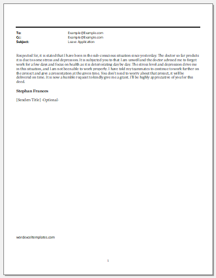 Email to Employee to Improve Negligence in Work