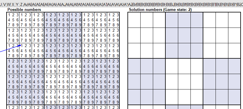 Sudoku Puzzle Solver for Excel