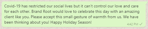 Happy Holiday Messages to Clients