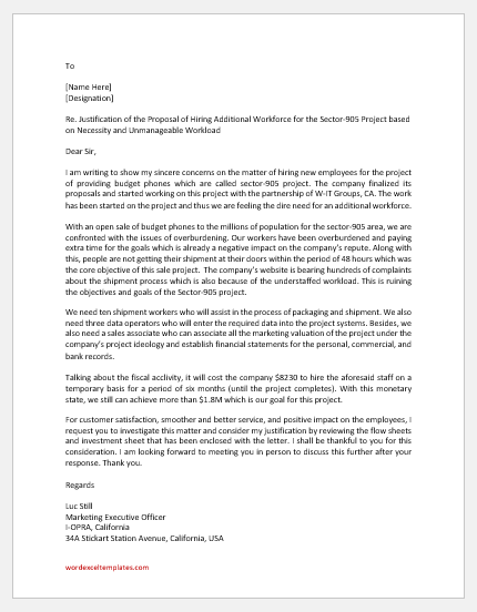 For letter looking partnership Business Proposal